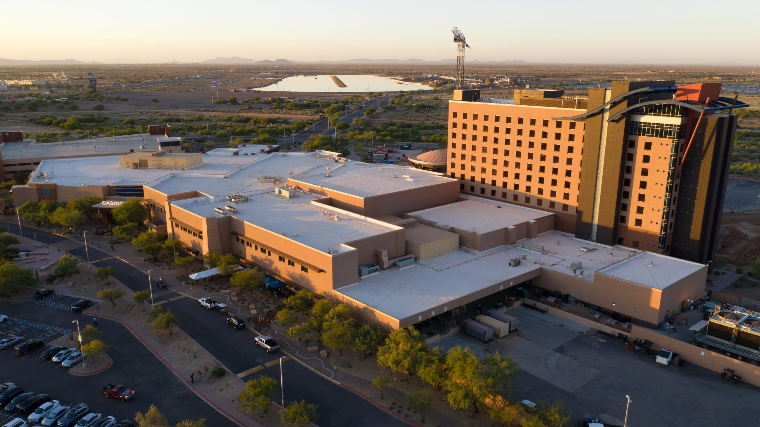 hospitality construction wild horse pass gila river casinos