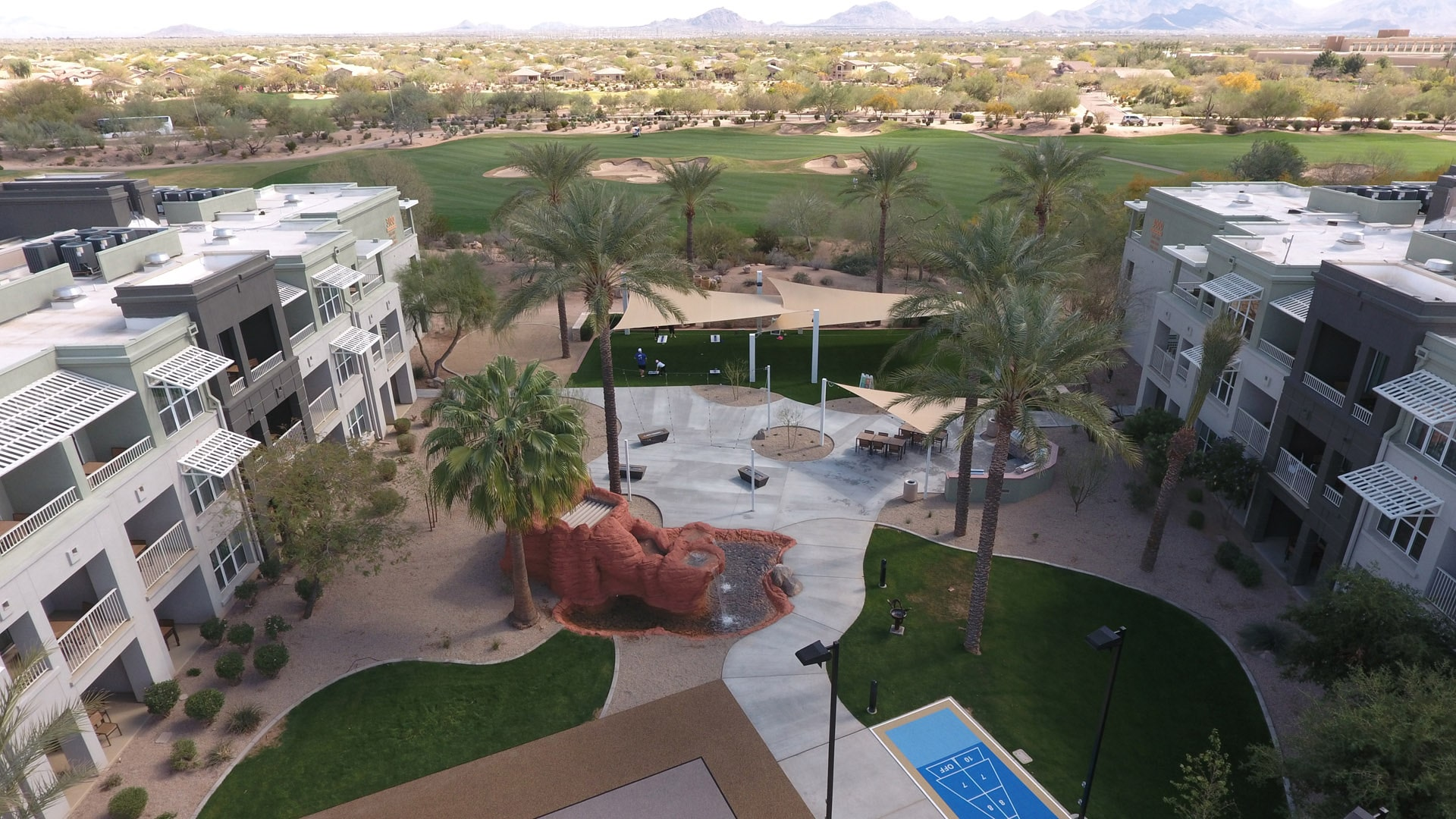 marriott canyon villas vacation timeshare construction scottsdale az