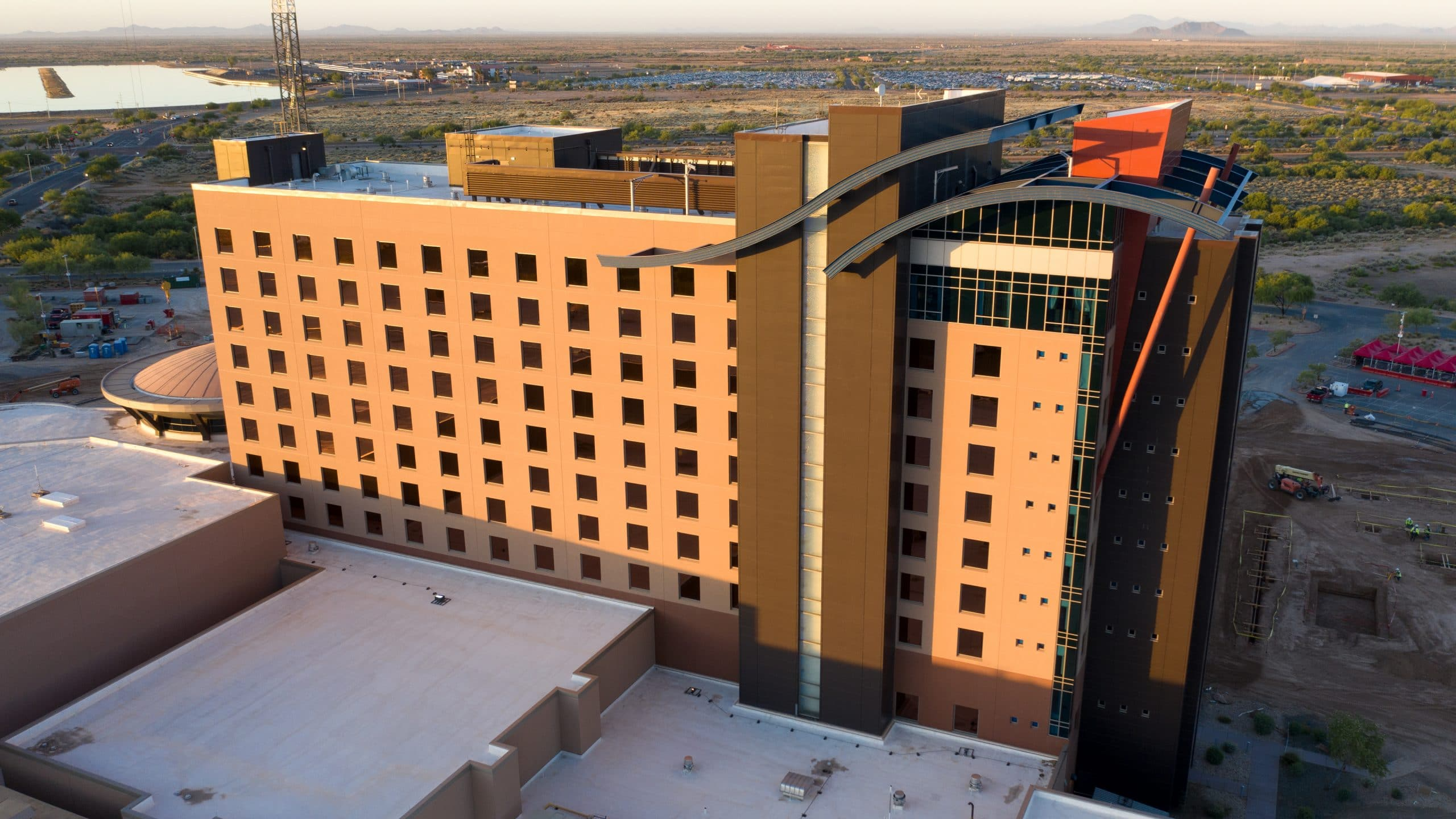 wild horse pass hotel tower construction scaled
